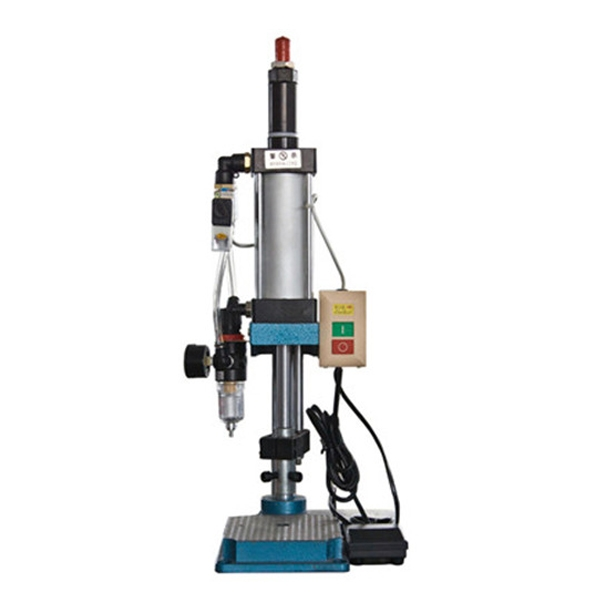 JBS-63TS上金牌小型微型台式气动小冲床压力机可调型单柱200公斤压入组合